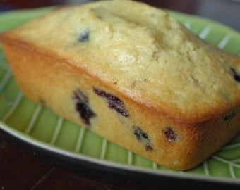 1 Large Lemon Blueberry Bread Loaf 9x4 (1) Edible Gift, Valentines Day, Housewarming Gift, Hostess Gift, Gift Under 20, Holiday