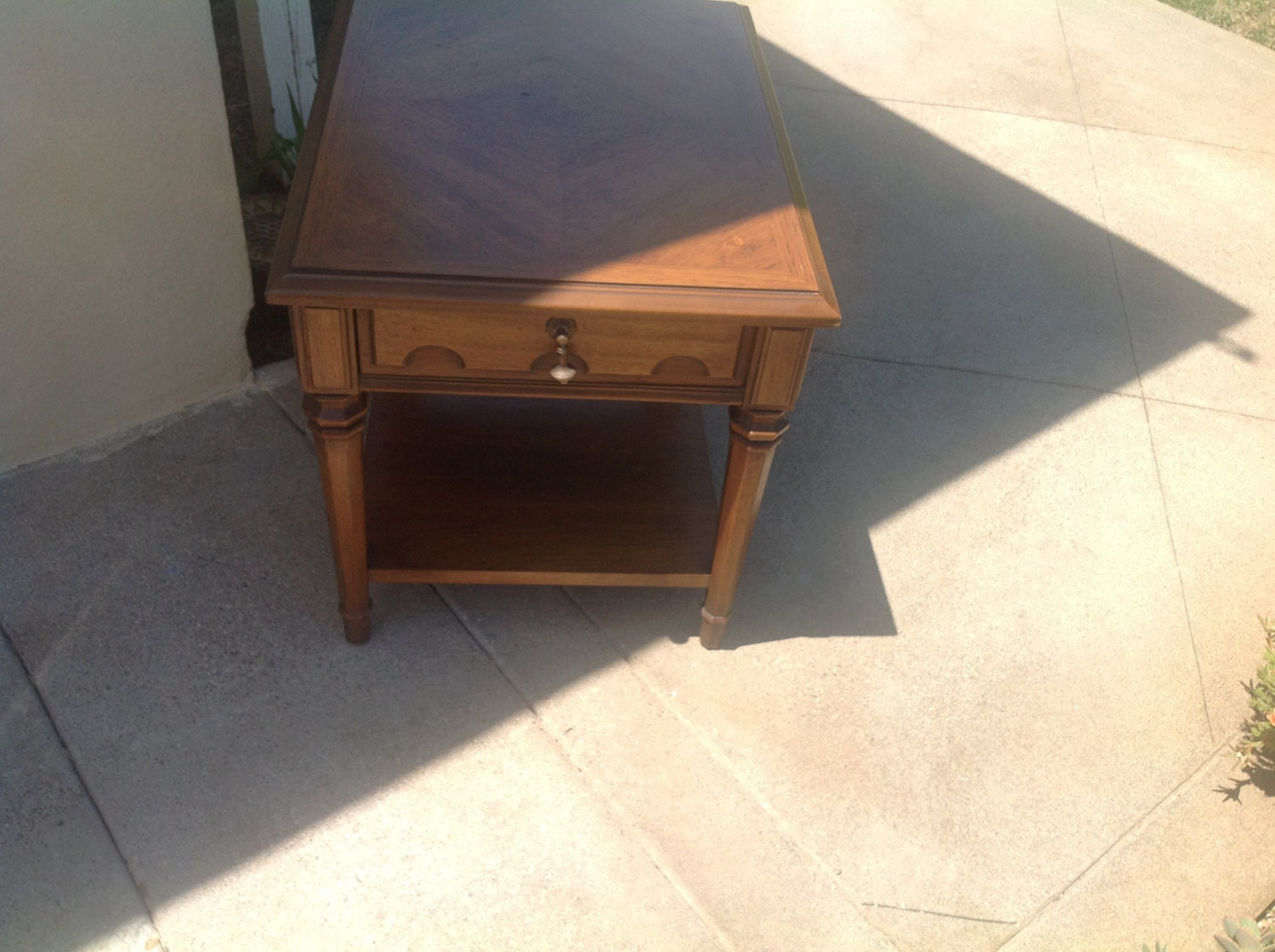 Side Table Drexel Esperanto With One Drawer Amp By