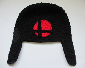 Crocheted Super Smash Brothers Hat