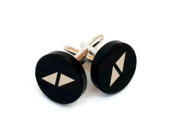 "Shop ""obsidian"" in Cuff Links & Tie Clips"