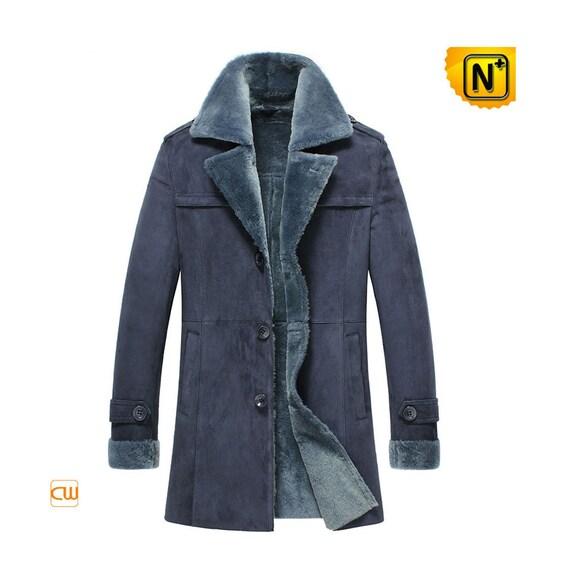 Shearling Sheepskin Leather Coat CW852108
