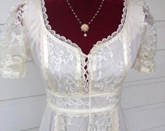 Gunne sax STYLE boho dress.