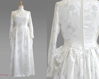 50s vintage wedding dress, 1950s wedding dress, 1950 vintage dress