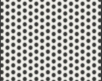 Half Yard - 1/2 Yard - Cookies and Cream - Oval Elements by Art Gallery