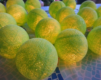 20 Light Green for decorated new year party,Halloween party,birthday party,wedding decorated,bedroom decorate
