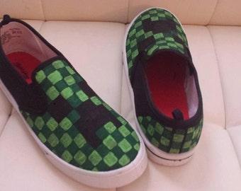 Minecraft Custom Shoes