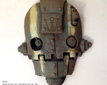 SkullBot - Striped Rust