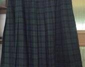 pleated japanese schoolgirl skirt