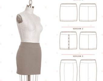 Mabel Skirt Pattern from Colette Patterns