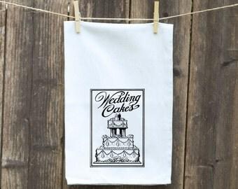 Flour Sack Towel-Tea-Dish-Hand-Kitchen-Wedding Cakes