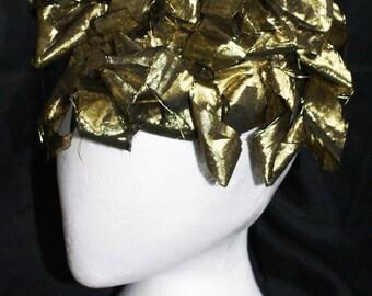 Golden headpiece for Women.