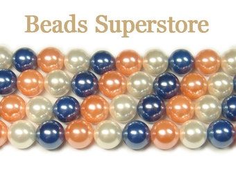 SALE CLOSEOUT GENUINE 10 mm Grade A Mother of Pearl Round Bead Mix - 20 pcs