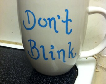Custom Doctor Who Quote Mug