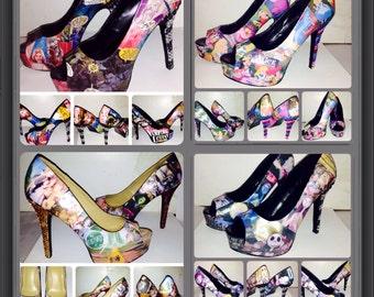 Custom made movie shoes