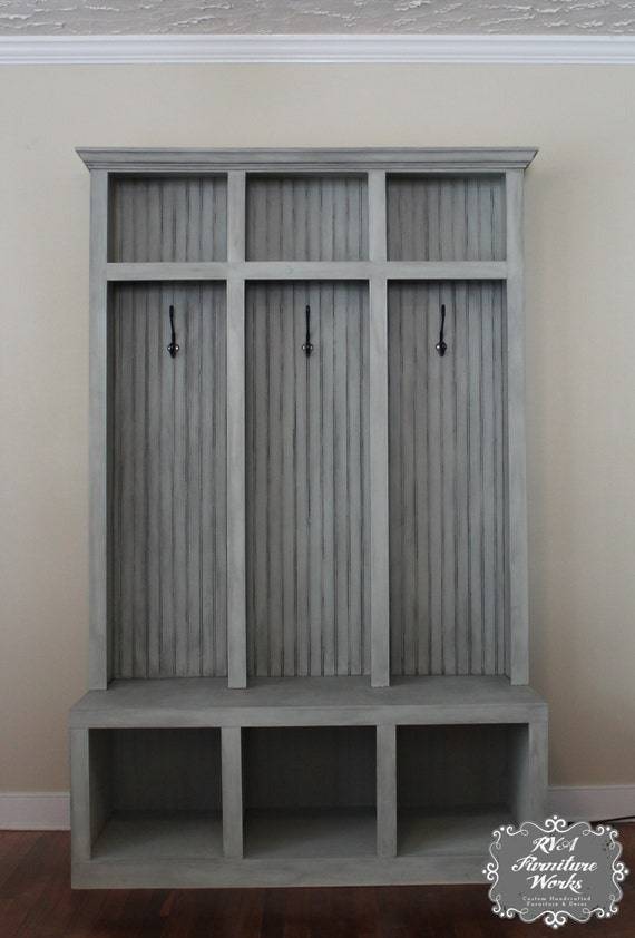 entryway mudroom locker bench 3 lockers