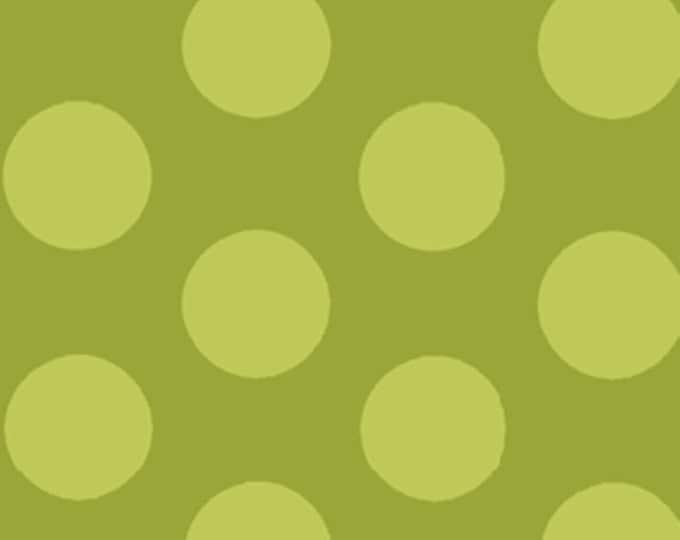 Half Yard Mischief  - Cookie Dots in Green - Little Boy Fabric Line Designed by Nancy Halvorsen for Benartex (w879)
