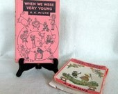 Vintage Children's Book From 1950- When We Were Very Young by A. A. Milne