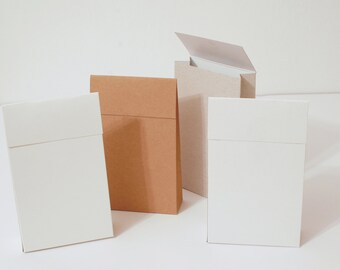 12 Gray, White and Kraft Gift Bags 4.33x7.08x1.57 I Party favors, packaging, card stock gift bags