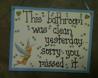 Funny bath sign | Etsy
