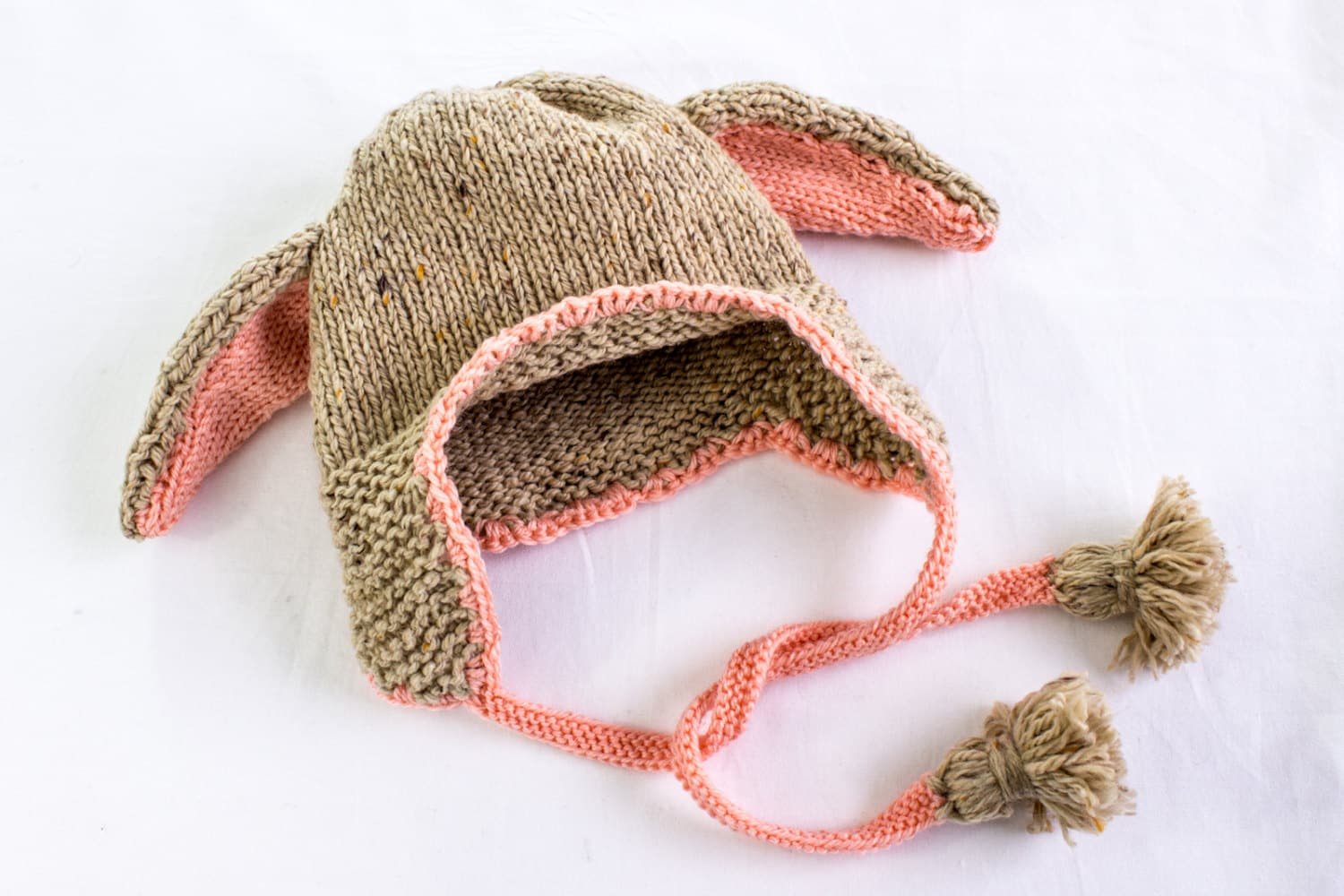 KNITTING PATTERN PDF Floppy Bunny Hat Knitting Pattern