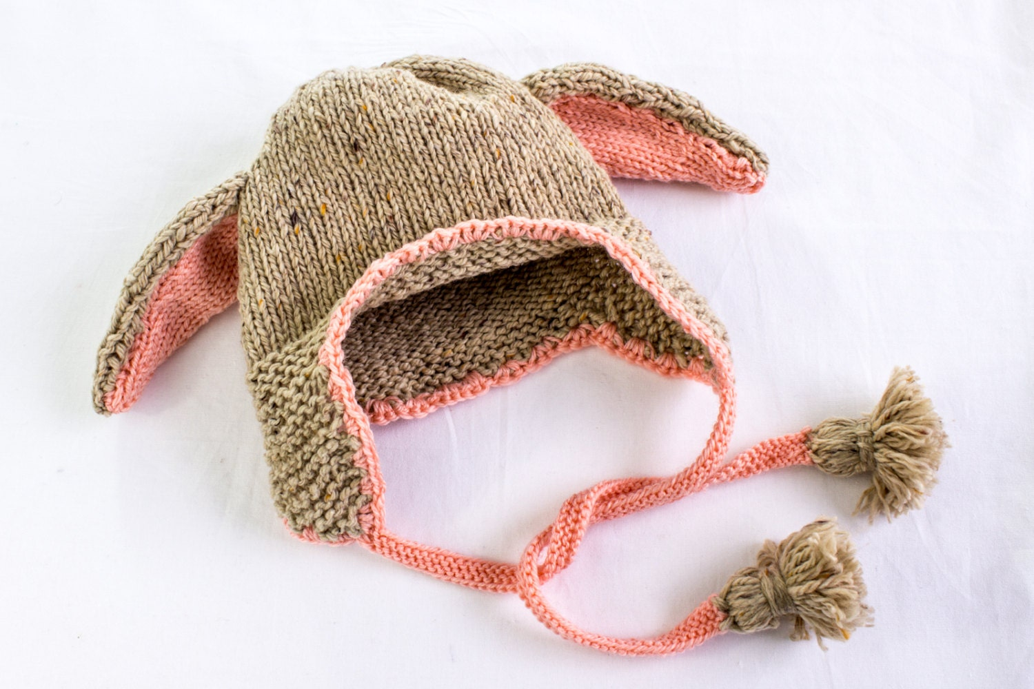 Bunny Ears Knitting Pattern : KNITTING PATTERN PDF Floppy Bunny Hat Knitting Pattern