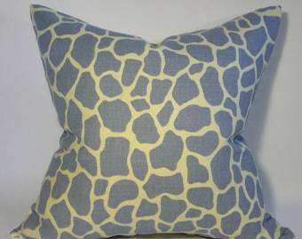 Kelly Wearstler Giraffe Linen Pillow Cover