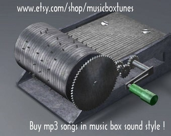 mp3 Au clair de la lune, hand crank music box lullaby. You can also also ask for a song, sound with the musical instrument you like !