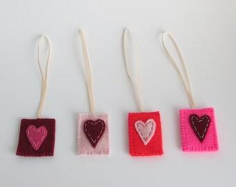 Heart felt parcel gift tags