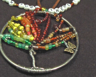 Tree Of The Seasons Necklace.