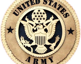 Army plaque 10.5""
