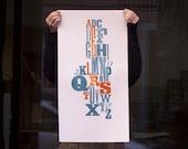 Common Letters - Letterpress Print