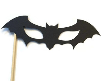 Halloween Photo Booth Prop - Bat Mask Prop- Photo Booth