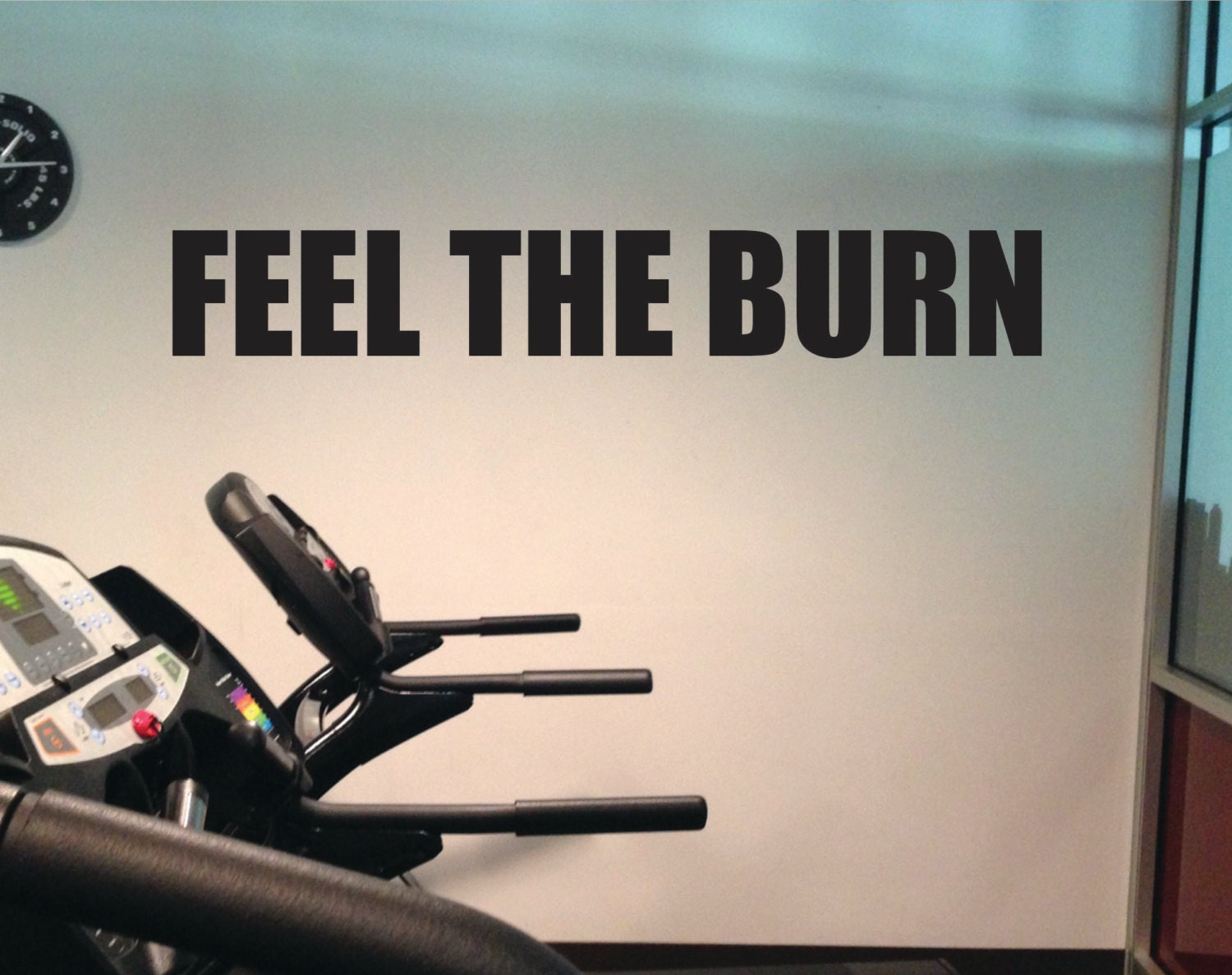 Feel The Burn Motivational Quote Inspirational Quote