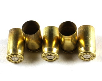 10x Brass 380 Auto Bullet Shell Casings - Will Drill If Requested or Remove Primer - M060