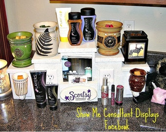Scentsy Table Top Display