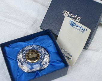 Waterford Crystal Clock - In Box