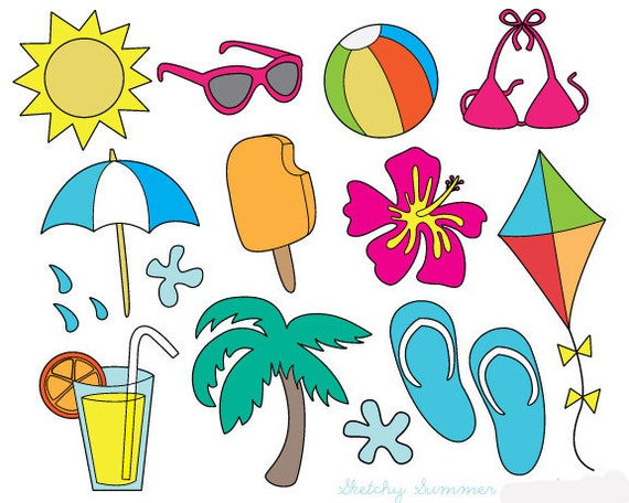 summer clipart lines - photo #9