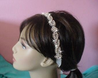 Special Sale Price, Wedding Tiara, Wedding Head Band, Bridal Head Band, Rhinestone Hair band, Bridal Tiara, Rhinestone Tiara, Wedding Halo