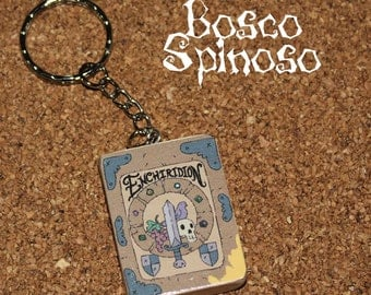 Adventure Time -  The Enchiridion - Keychain