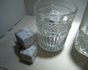 Whiskey Stones/Granite Ice Cubes/Stone Ice Cubes/ Barware