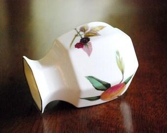 Ardco Dallas Vintage Porcelain Trinket Box Pink White And Gold