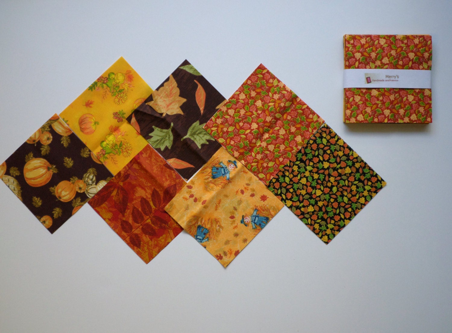 Harvest fall patterns charm pack quilt by merrysewingnfabric