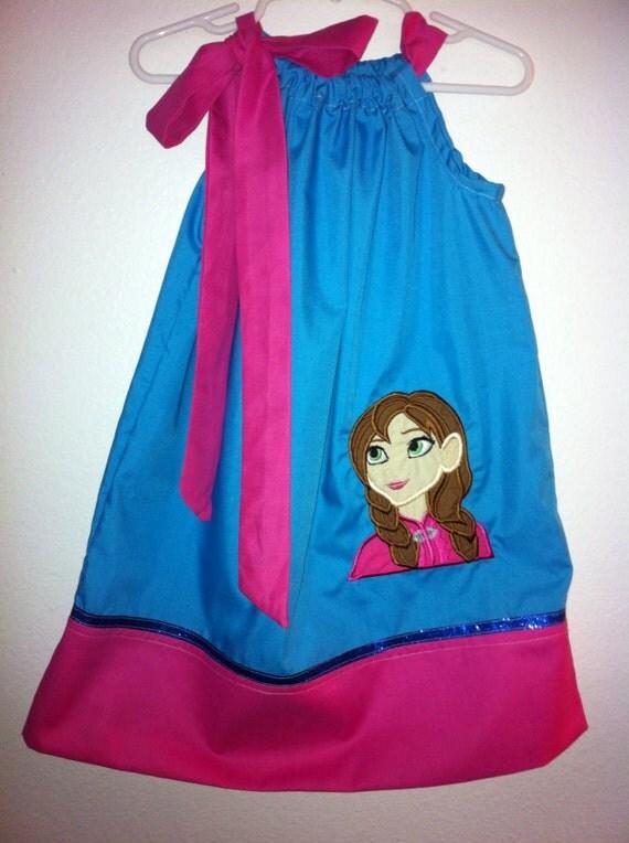 A cute Anna pillowcase dress