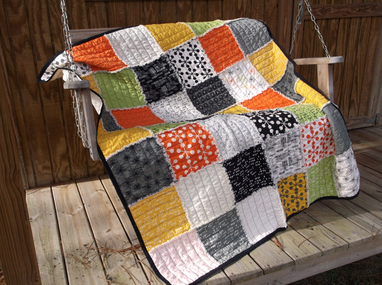 Layer Cake Quilt Missouri Star : Layer Cake Rag Quilt Comma Zen Chic Collection for Moda