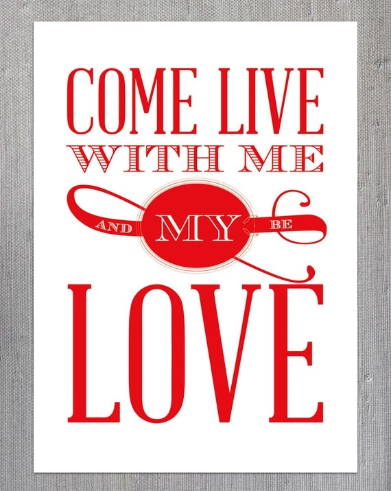Come with Me, a Love Poem | LetterPile