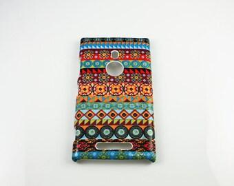 Aztec Nokia Lumia 925  830 Hard Shell Case Skin Protective Cover