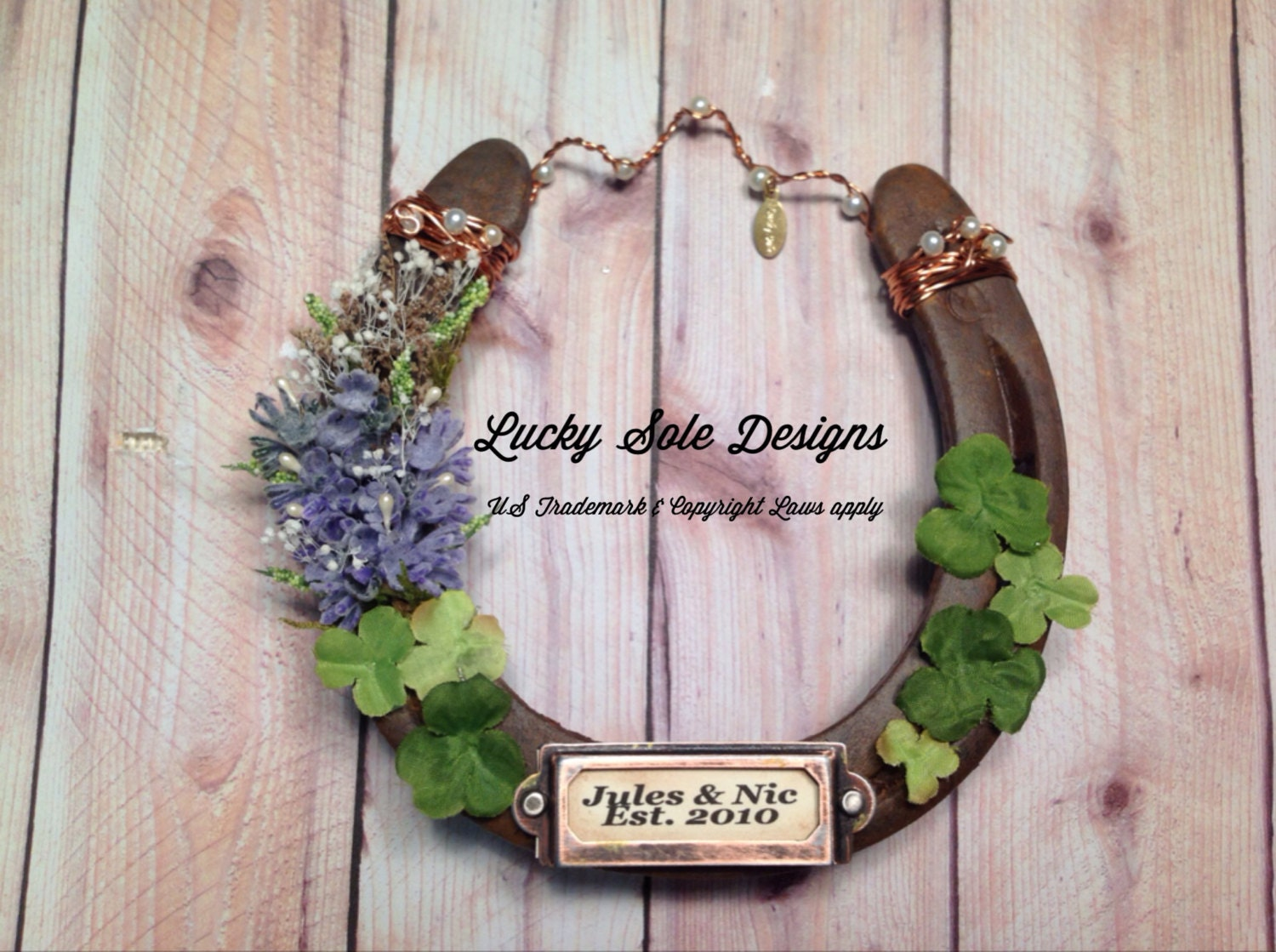 Wedding Gifts For Good Luck : LGBT Wedding Gift LGBT Good Luck Horseshoe by LuckySoleHorseshoes