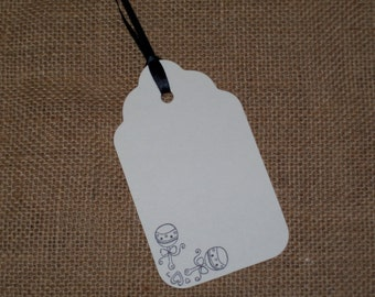25 Baby Shower Wish Tree Tags, Baby Rattles, Baby Boy, Baby Girl, It's a Boy, It's a Girl, Wishing Tree Tags, Wish Cards, Table Numbers