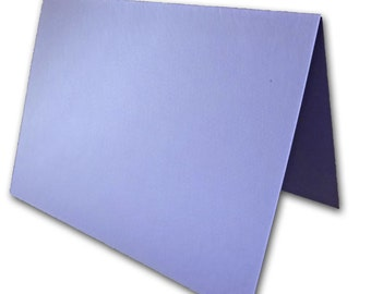 Blank Metallic Purple Place Cards 25 pack