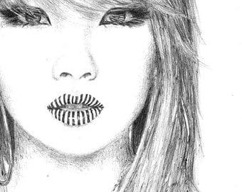 CL of 2NE1 Drawing